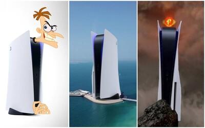 Sauronove oko, zobák kačky či wifi-router. Na toto sa podľa internetu podobá PlayStation 5