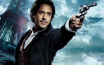 Scénáristé dávají hlavy dohromady a připravují pro nás napínavý příběh pro třetího Sherlocka Holmese
