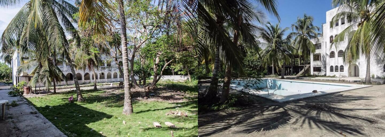 Schátraná bohémska vila drogového bossa Pabla Escobara, kde sa pred rokmi konali najlegendárnejšie párty v Karibiku