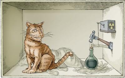 Schrödingerova kočka: Myšlenkový pokus i paradox rozbíjející argumenty kvantové mechaniky