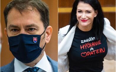 Schválili Matovičov návrh na pokutu 10 000 eur za očkovanie mimo poradia. Bude sa podvádzať a plytvať, odkazuje Cigániková