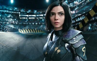 Sci-fi Alita: Battle Angel zbiera slová chvály od Jamesa Camerona a odhaľuje vznik hraného ženského kyborga