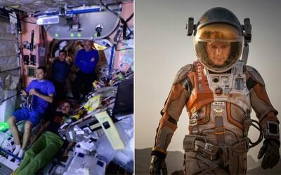 Sci-fi The Martian už má za sebou špeciálnu premiéru - pustili si ho astronauti vo vesmíre