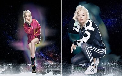 Sci-fi žena Rita Ora a její vesmírná kolekce s adidas Originals