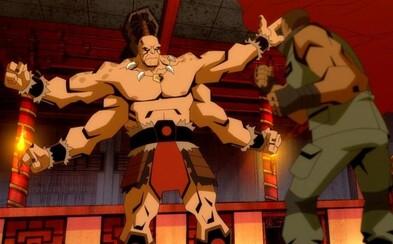 Scorpion bude trhať vnútornosti v animovanom Mortal Kombat. Sleduj prvý trailer s legendárnymi postavami a akčnými scénami