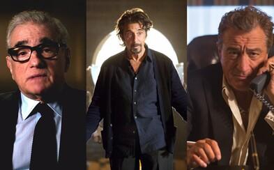 Scorsese, Al Pacino a De Niro plánujú premiéru svojho mafiánskeho filmu The Irishman na rok 2018