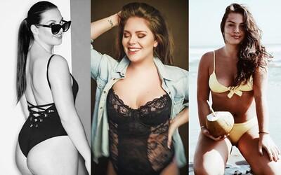 Sebavedomé slovenské plus-size modelky, ktoré dokazujú, že aj oblejšie tvary sú sexi