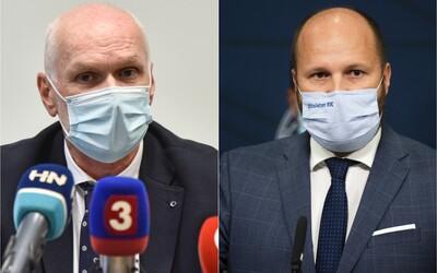 Šéf lekárskej komory žiada od Naďa ospravedlnenie, inak hrozí žalobou. Matovič hovorí o sabotáži a vlastizrade