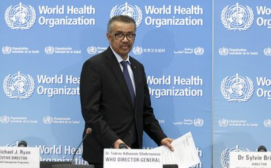 Šéf WHO: Už ne Čína, ale Evropa je nyní epicentrem koronaviru