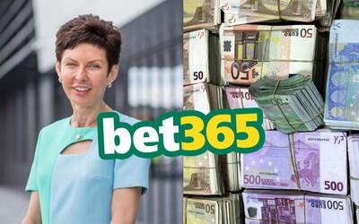 Šéfka stávkovej spoločnosti Bet365 minulý rok zarobila 297 miliónov €. Denne si domov odniesla cez 815-tisíc