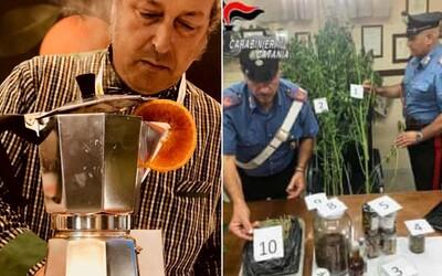 Šéfkuchaře z Itálie zatkla policie kvůli podezření z prodeje drog. Tvrdí, že jen objevoval nové chutě
