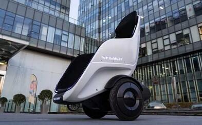 Segway představil pojízdné křeslo, které vypadá jako z pohádky Wall-E. Dokáže samo balancovat a má 150 kg