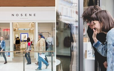 Sekáčové oblečenie teraz kúpiš už aj v nákupnom centre. Nosene otvára v Auparku nový pop-up