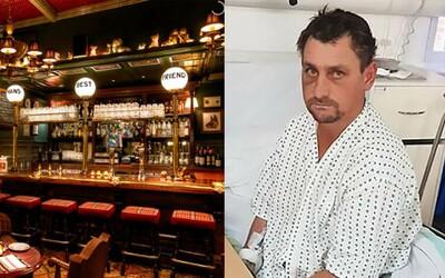 Šel na jedno pivo v Rumunsku a ráno se probudil dobitý v Londýně. Netušil, jak se dostal do anglické nemocnice, ale měl v ní i štěstí