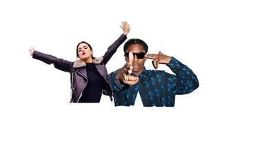 Selena Gomez hudobne dospela po boku A$AP Rockyho