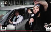 Selfie challenge: Barborka a Šajmo v uliciach Bratislavy súťažili, komu sa podarí spraviť si viac selfie fotiek s okoloidúcimi (Video)
