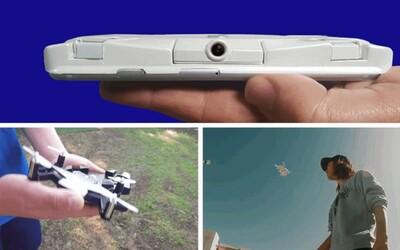 SELFLY Camera je autonómne lietajúce puzdro pre smartfóny, vďaka ktorému si spravíš ukážkovú selfie