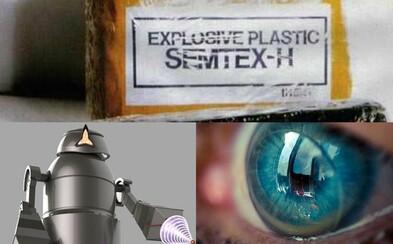 """Semtex, kontaktní čočky, detektor výbušnin nebo slovo """"robot"""". České vynálezy, které změnily svět"""