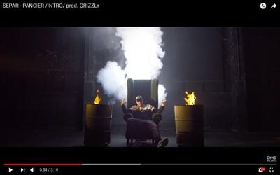 Separ predstavuje nálož rapu v titulnej skladbe Pancier z albumu s rovnomenným názvom