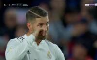 Sergio Ramos si pri výprasku od Barcelony utieral slzy. Real Madrid v El Clásicu pohorel na plnej čiare