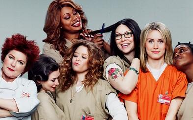 Seriál Orange is the New Black plný černého humoru představuje další sérii na fotkách a v traileru