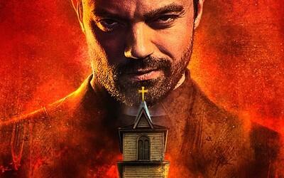 Seriálový Preacher na nových plagátoch vnadí na krvavú atmosféru hriešneho kňaza