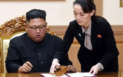 Sestra Kim Čong-una posílá vzkaz Spojeným státům: Pokud chcete klidně spát, nedělejte to, co vás o spánek připraví