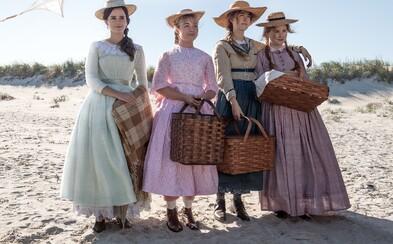 Sestry Saoirse Ronan, Emma Watson a Florence Pugh si v úžasne vyzerajúcej dráme pýtajú Oscara