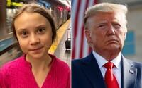 Setkání s Donaldem Trumpem by byla ztráta času, tvrdí Greta Thunberg. Nemá v plánu vysvětlit mu, o čem je klimatická krize