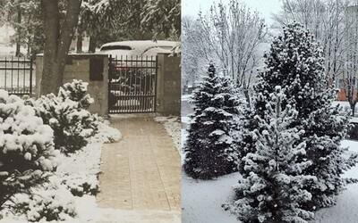 Sever Slovenska dnes zasnežilo. Aprílové počasie pod Tatrami sa zbláznilo a vrátilo ľudí späť do decembra