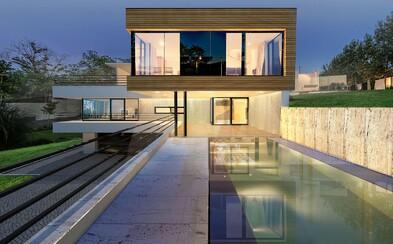 Severně od Pražského hradu můžete vlastnit bydlení jako vystřižené z architektonického magazínu