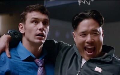 Severokorejský diktátor Kim Čong-un s finálním trailerem na novou komedii Setha Rogena