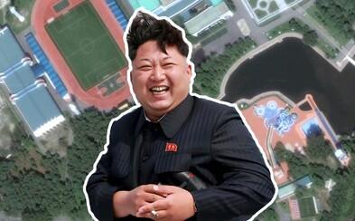 Severokorejský vůdce Kim Čong-un si užívá v tajném paláci jen pro vyvolené. Dlouhatánské jachty i zábavní park tam nemohou chybět