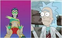 Sex v trojke, cestovanie časom a úžasné sci-fi nápady zdobia prvú epizódu 5. série Ricka a Mortyho