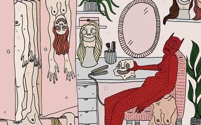 Sexualita, frustrace a deprese. Ilustrátorka zobrazuje ženské démony, se kterými se setkává každý den