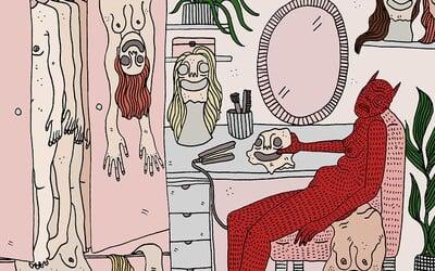 Sexualita, frustrácia a depresia. Ilustrátorka zobrazuje ženských démonov, s ktorými sa stretáva každý deň