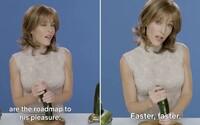 Sexuálna terapeutka zo Sex Education ti v celom videu zo seriálu ukáže, ako správne uspokojiť muža