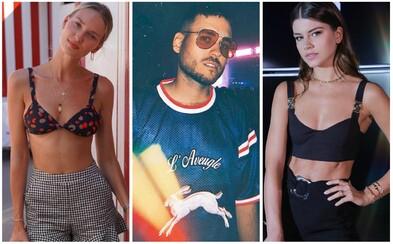 Teri Hodanová oděná v luxusu, sexy Karolína Chomisteková nebo Pil C v topu Gucci. Poslední horké týdny si známé osobnosti užily naplno