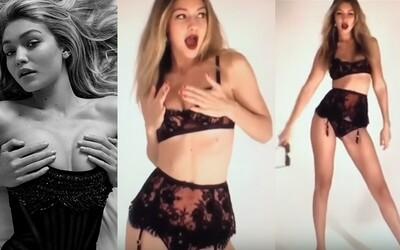 Sexy tanečky krásnej Gigi Hadid iba v spodnej bielizni ti zaručene zlepšia deň