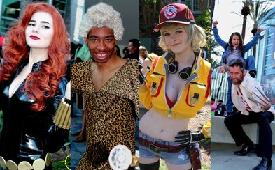 Sexy, vtipné, ale i originálne a obdivuhodné. Toto sú najlepšie kostýmy z obrovskej americkej cosplay výstavy