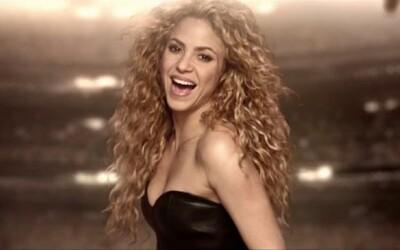 Shakira s klipom pre La La La, oficiálnu skladbu k MS v Brazílii