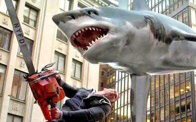 Sharknado se vrací potřetí a znova to bude o něco bláznivější než naposledy