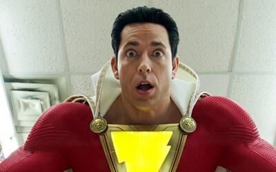 Shazam je superhrdina, ktorý je mentálne na úrovni dieťaťa. Záporákov však bude rozhadzovať po nebesách ako Superman