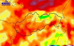 SHMÚ: Budúci týždeň bude opäť horúco a dusno. Potrápia nás aj búrky, krúpy a saharský prach