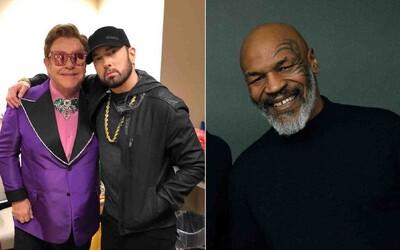 """Si jediný biely človek, ktorý vie, aké je to byť """"ne*er,"""" povedal Mike Tyson Eminemovi"""