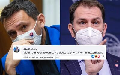 Si mimozemšťan, odkázal poslanec OĽaNO svojmu šéfovi Matovičovi. Kritizuje ho za útočný status proti novinárom a Sulíkovi
