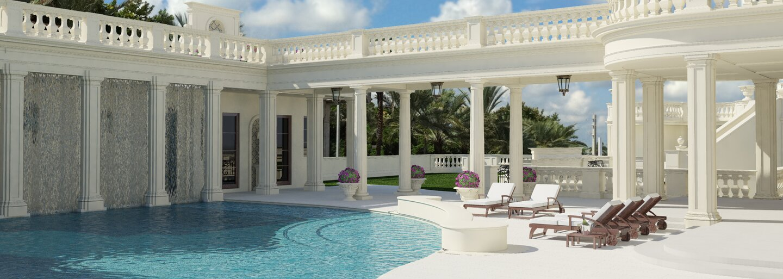 Šialene drahý dom, ktorý bol kedysi najdrahší v Spojených štátoch, a teraz jeho cena ešte stúpla, má motorkársku dráhu, podzemnú párty zónu či klzisko