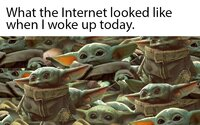 Šialenstvo okolo roztomilého Baby Yodu pokračuje, vznikli desiatky memes. Toto sú tie najlepšie