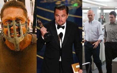 Šílenou oscarovou noc ovládl Mad Max, DiCaprio získal prvního Oscara a zářil i The Revenant se Spotlight