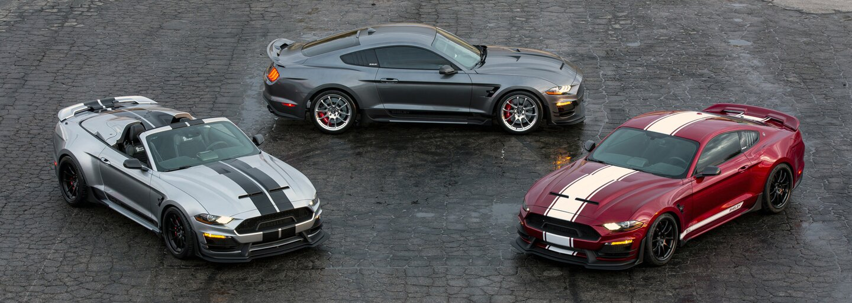 Šialený Shelby Super Snake Speedster je dvojmiestny Mustang bez strechy s výkonom až 825 koní